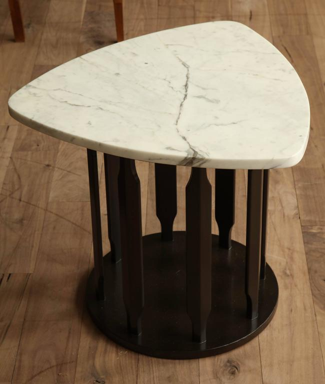 Marble Side Table For Sale 4