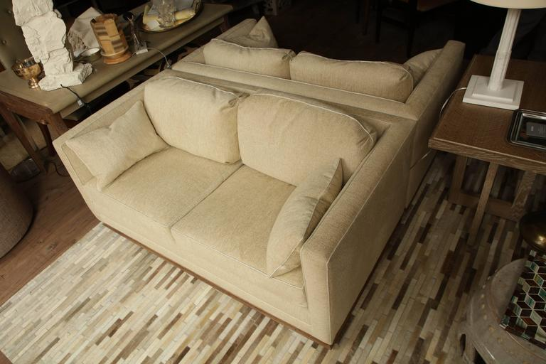 Pair of Settees For Sale 2