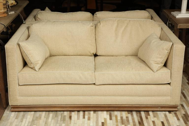 Pair of Settees For Sale 3