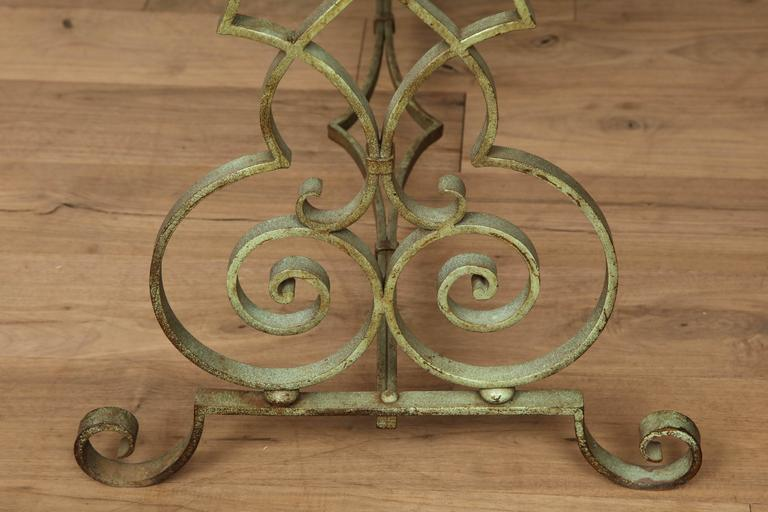 Verdigris Side Table For Sale 3