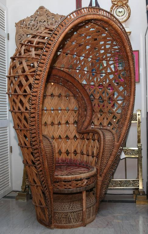 Quintessential Anglo Indian Quot Peacock Quot Chair For Sale At