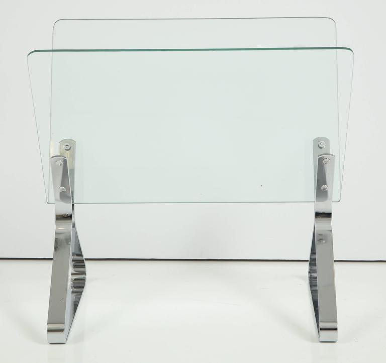 Mid-20th Century Magazine Stand by Milo Baughman, C 1960 For Sale