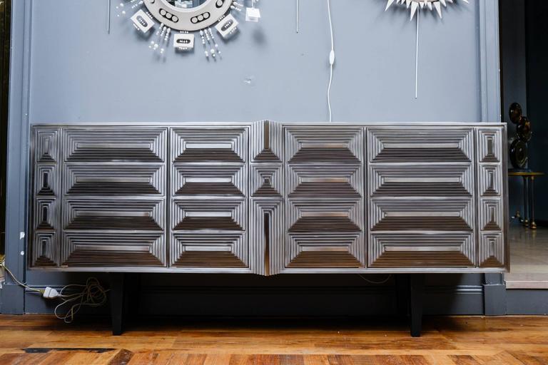 Modern Sideboard Signed by Erwan Boulloud For Sale