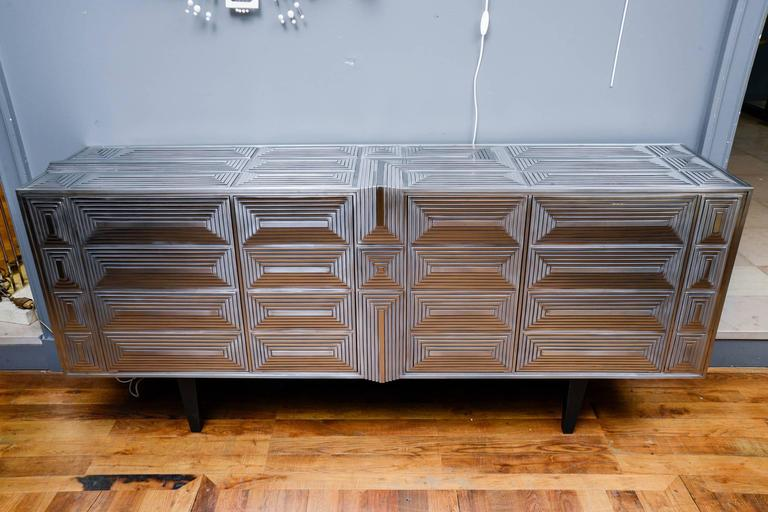 French Sideboard Signed by Erwan Boulloud For Sale