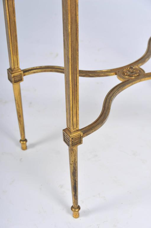 Louis XVI Style Ormolu Side Table In Good Condition For Sale In Brighton, Sussex