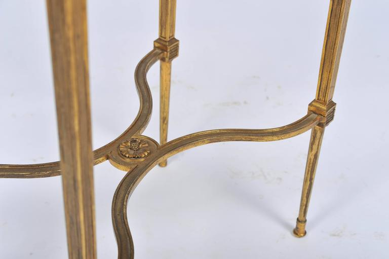 19th Century Louis XVI Style Ormolu Side Table For Sale
