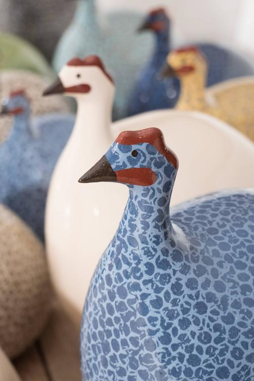 Small Ceramic Guinea Hen For Sale 4
