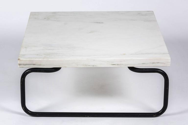 Michael McCarthy for Cassina Italian Marble Cocktail Table In Good Condition For Sale In Chicago, IL