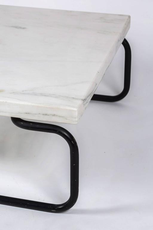 Mid-20th Century Michael McCarthy for Cassina Italian Marble Cocktail Table For Sale