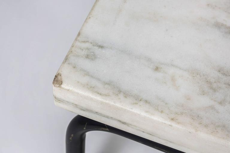 Michael McCarthy for Cassina Italian Marble Cocktail Table For Sale 2