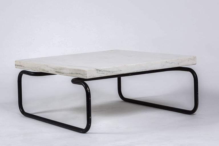 Michael McCarthy for Cassina Italian Marble Cocktail Table For Sale 3
