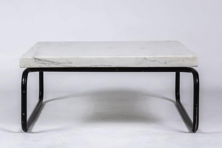 Michael McCarthy for Cassina Italian Marble Cocktail Table For Sale 4