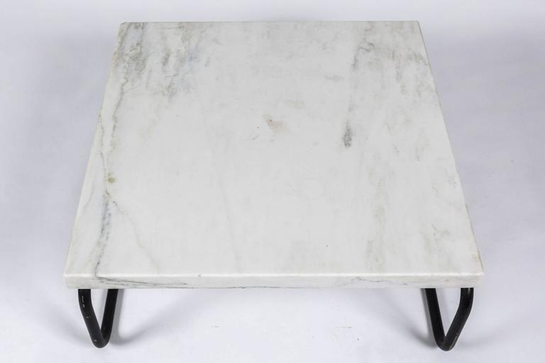Michael McCarthy for Cassina Italian Marble Cocktail Table For Sale 5