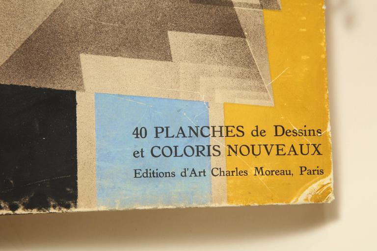 """Art Deco """"Prismes"""" by E.A. Seguy For Sale"""