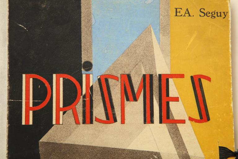 """French """"Prismes"""" by E.A. Seguy For Sale"""