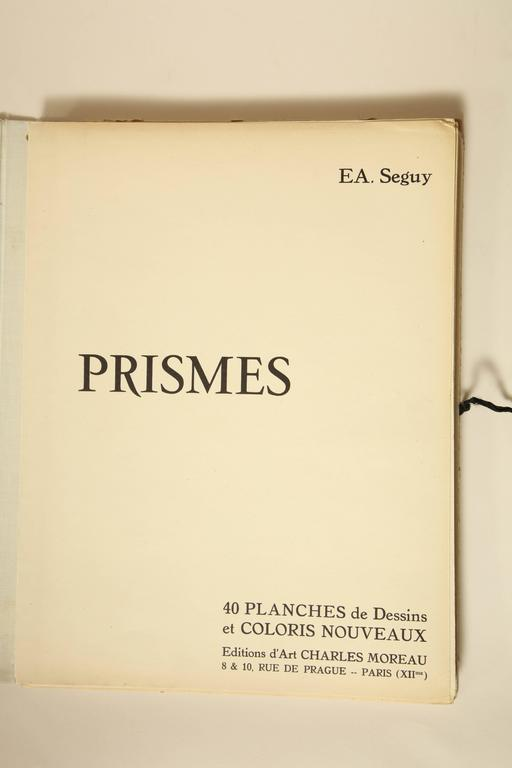 """""""Prismes"""" by E.A. Seguy In Good Condition For Sale In New York, NY"""