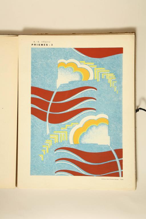 "20th Century ""Prismes"" by E.A. Seguy For Sale"