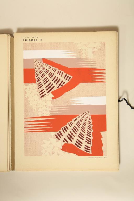 """Prismes"" by E.A. Seguy For Sale 1"