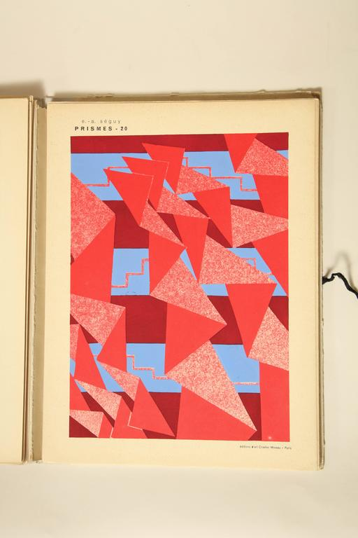 """Prismes"" by E.A. Seguy For Sale 2"