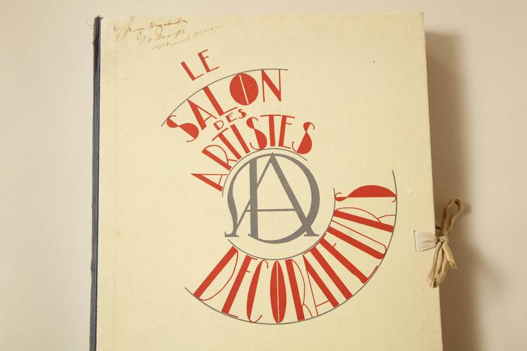 "French ""Le Salon Des Artistes Decorateurs 1930"" by Marcel Chappey For Sale"