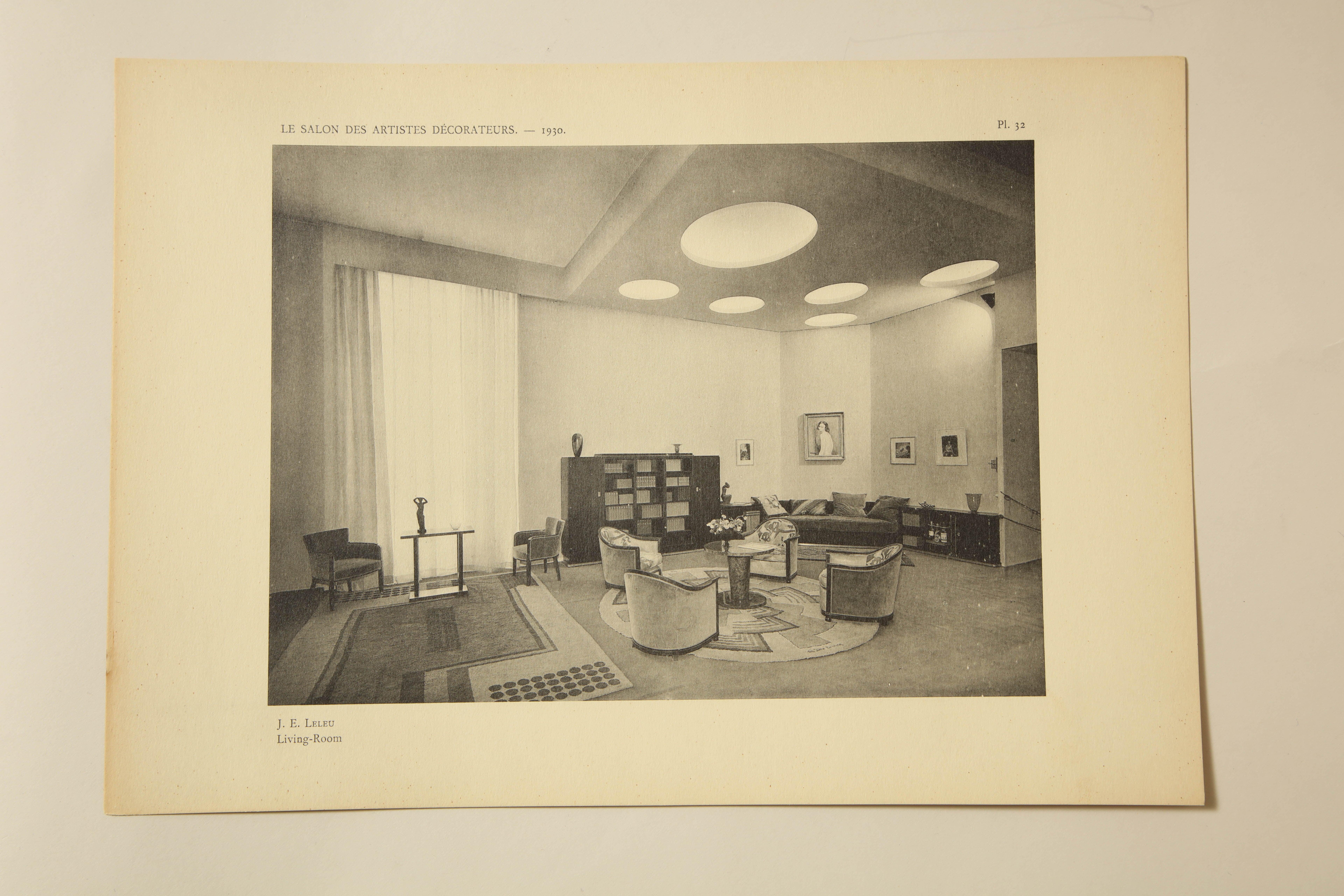 Le salon des artistes decorateurs 1930u201d by marcel chappey for sale