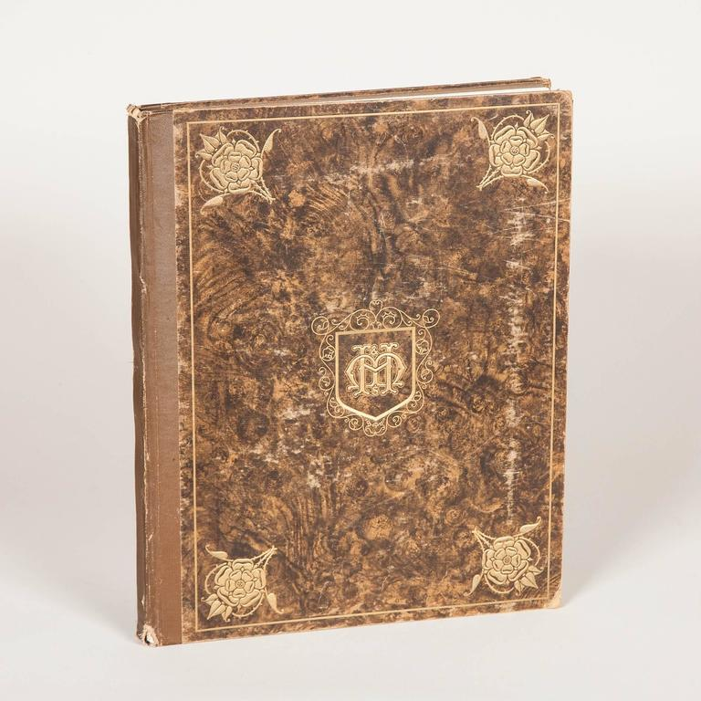 A rare set in three volumes of Moss Harris and Sons Catalogue & Sons; Index of Old Furniture and Works of Decorative Arts. From late 16th century-early 19th century. 