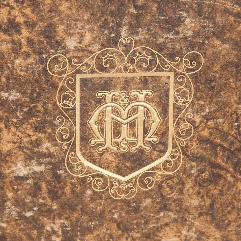English Moss Harris & Sons Catalogue and Index of Old Furniture in Three Volumes For Sale