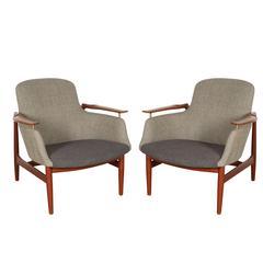 Finn Juhl Chairs, Pair
