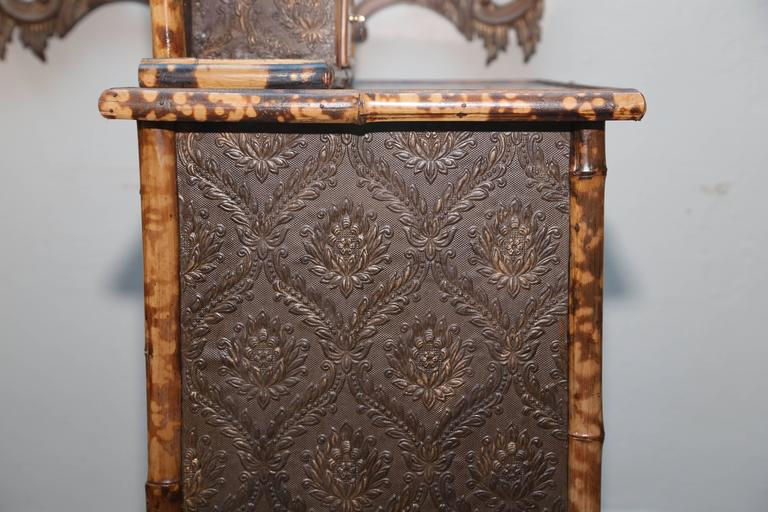 Superb 19th Century, English Bamboo Cottage Dresser In Good Condition For Sale In West Palm Beach, FL