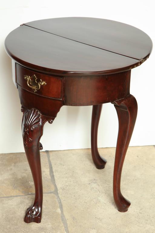 Irish george i mahogany console table for sale at 1stdibs for Sofa table ireland