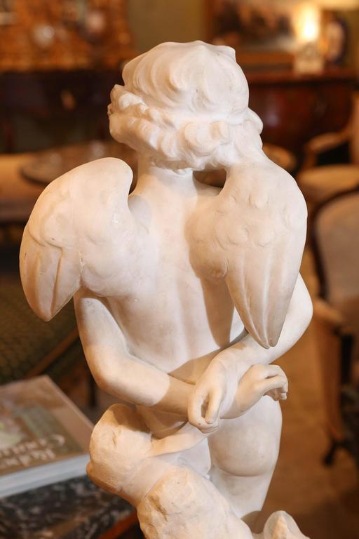 Marble Sculpture by Denise Delavigne