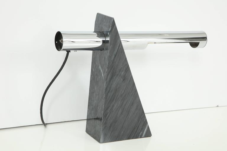 Mid-Century Modern Table Lamp by Sonneman, C 1960 For Sale