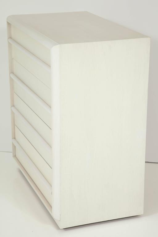 American T.H. Robsjohn-Gibbings Bleached Walnut Chest For Sale