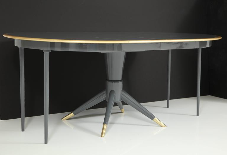 David Rosen for Nordiska Kompaniet Swedish Modern Dining Table 10
