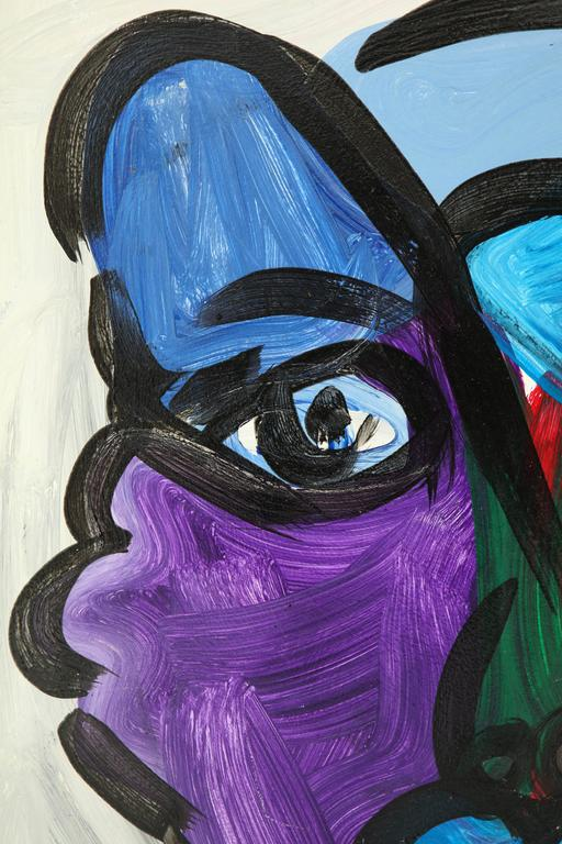 Peter Keil Abstract Portrait For Sale 1
