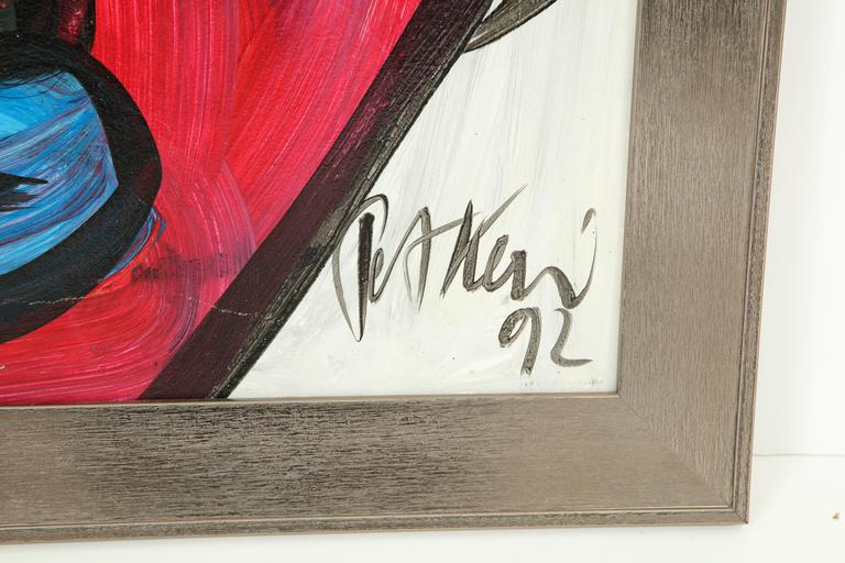 Peter Keil Abstract Portrait For Sale 2