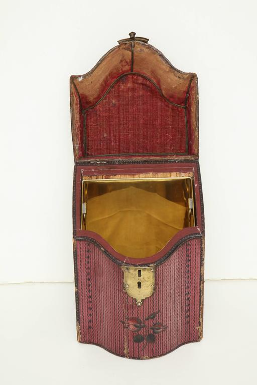Late 18th Century English Painted Neoclassical Knife Box 10