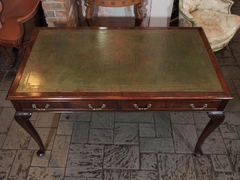 Antique English Mahogany Writing Table Georgian Style 3