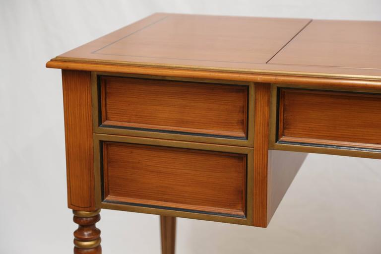 American Julia Gray Maple Desk or Dressing Table For Sale
