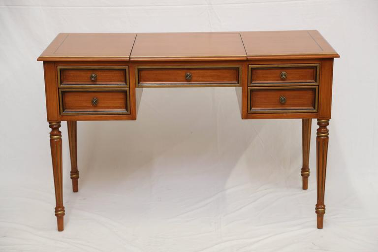 Julia Gray Maple Desk Or Dressing Table For Sale At 1stdibs