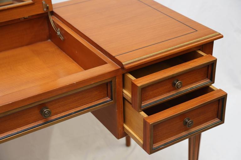Julia Gray Maple Desk or Dressing Table 7
