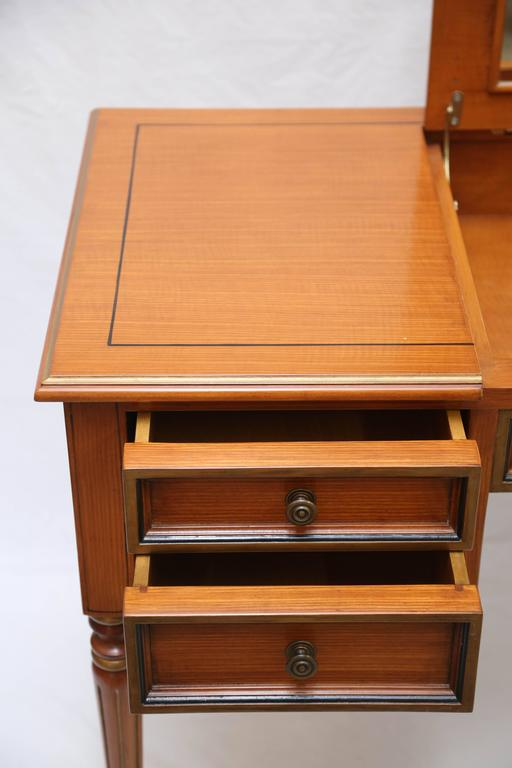 Julia Gray Maple Desk or Dressing Table For Sale 1