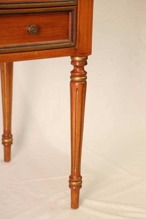 Julia Gray Maple Desk or Dressing Table 9