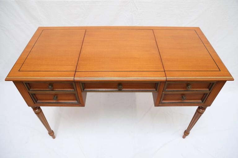 Julia Gray Maple Desk or Dressing Table 10