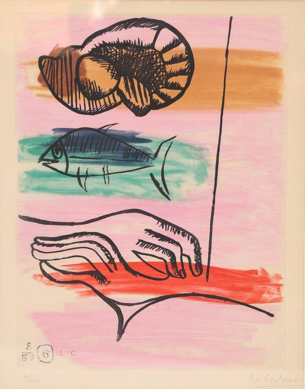 """Le Corbusier """"Unite, Plate 6"""" 2"""