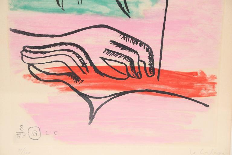 """Le Corbusier """"Unite, Plate 6"""" 4"""