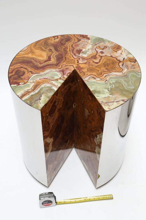 Leon Rosen for Pace Steel and Onyx Tables 4