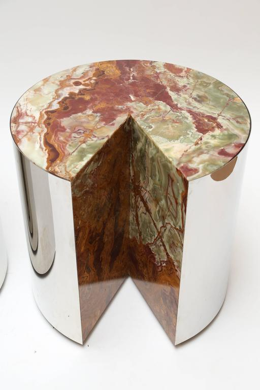 Leon Rosen for Pace Steel and Onyx Tables 2