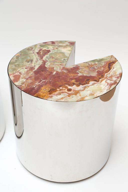 Leon Rosen for Pace Steel and Onyx Tables 3