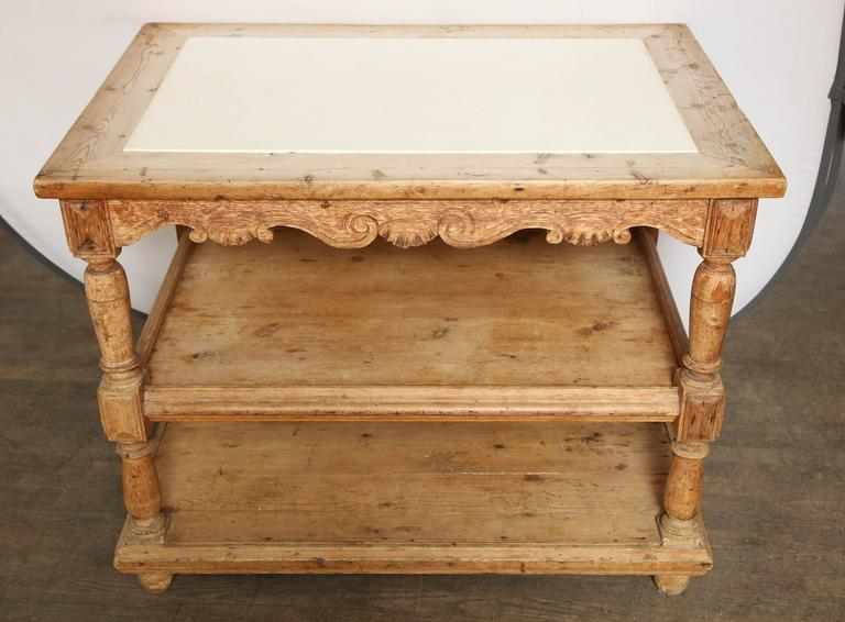 Antique kitchen island for sale at 1stdibs for Vintage kitchen island for sale